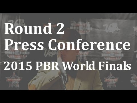 Bonner Bolton wins Round 2 2015 PBR World Finals Round -Press Conference