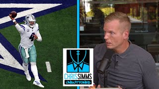 Film Deep Dive: Giants vs. Cowboys, NFL Week 1 | Chris Simms Unbuttoned | NBC Sports