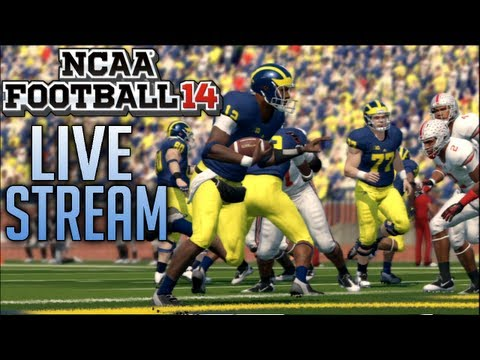 NCAA Football 14 Demo Livestream - 5 FULL Games! (