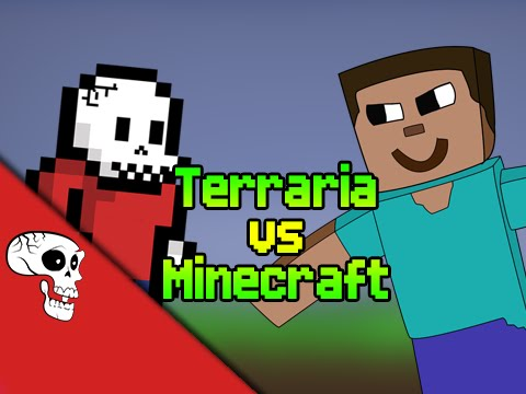 Terraria vs Minecraft Rap Battle by JT Machinima and VGRB