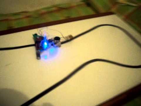 robot seguidor de linea velocista