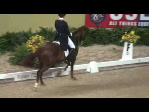 The Cutest Dressage Grand Prix Freestyle EVER [[Hans Peter Minderhoud and Equis Nadine]]