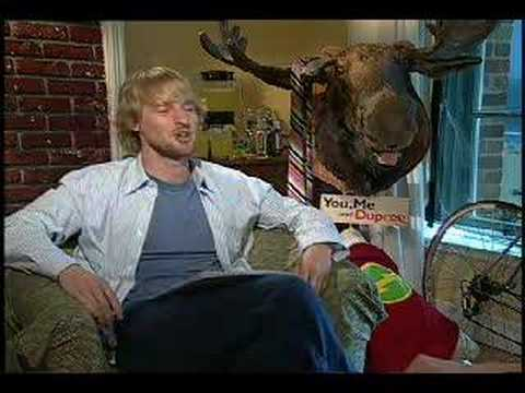 You Me and Dupree Owen Wilson interview Video