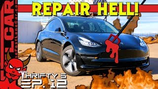 Tesla Repair Hell is a THING as We Find Out From This Tesla Owner  - Thrifty 3 Ep.12