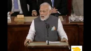 Narendra Modi's remark on Yoga in US during Congress address