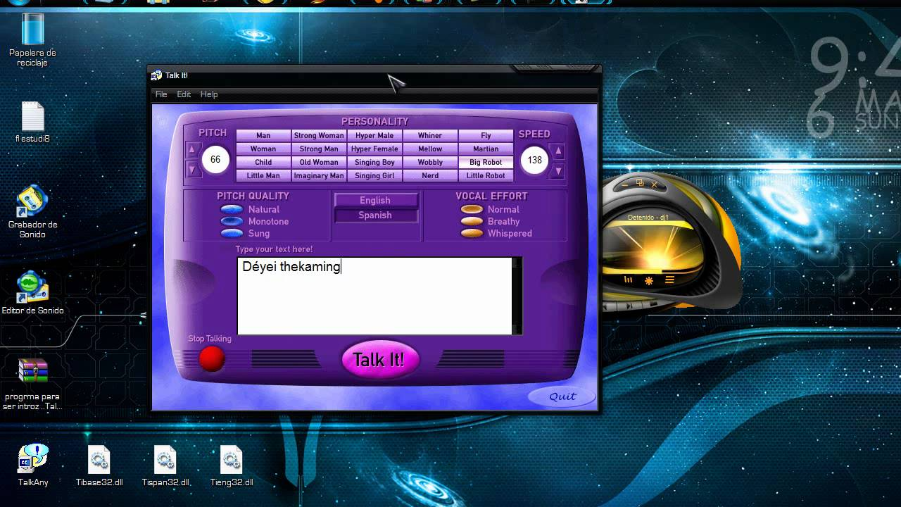 descargar lector de textos en español gratis para windows 7