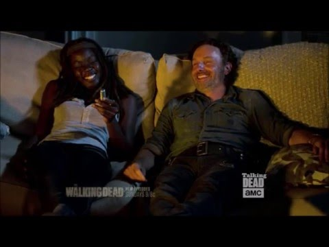 Talking Dead - Andrew Lincoln on Richonne