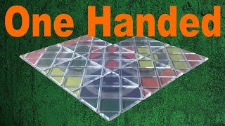 Trying to Solve a Rubik's Magic One Handed