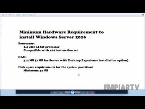 Step By Step Guide To Install Windows Server 2016