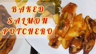 BAKED SALMON POTCHERO | SIMPLE POTCHERO RECIPE | NO ADDED SALT & LOW SODIUM | THE UNSALTED KITCHEN