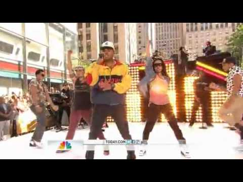 Chris Brown - Turn up The Music Today Show 2012