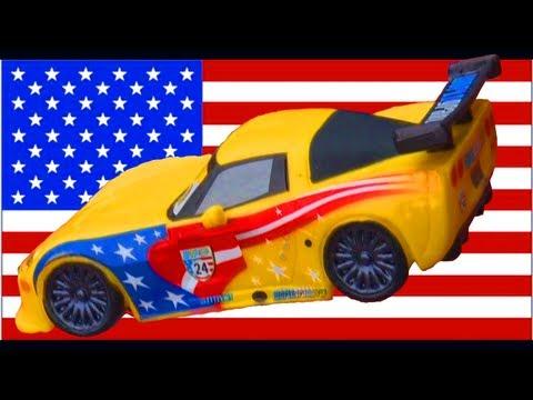 Disneystore cars 2 jeff gorvette disney figure racer disney pixar