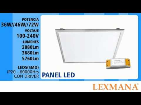 Caja de Luz Panel Led Lenticular
