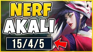 This is why Akali NEEDS to be nerfed...