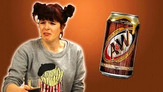 Irish People Try Root Beer For The First Time
