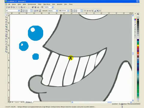 Wektoryzacja grafiki bitowej na przykładzie narzędzi programu CorelDRAW X3