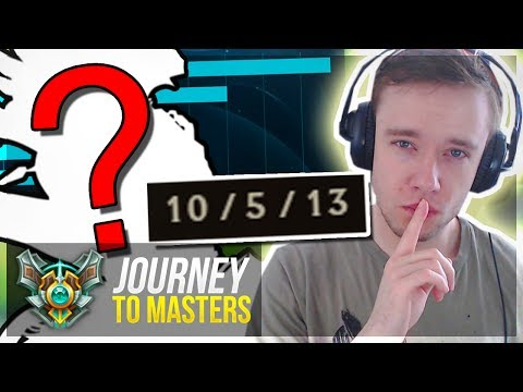 MY NEW SECRET WEAPON?! IS THIS IT..? Journey To Masters | League of Legends