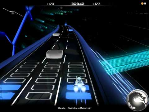 Audiosurf | Darude - Sandstorm (Radio Edit) [HD]