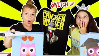 Kutudan Ne Çıkacak Challenge - Switch Up - Eğlenceli Video