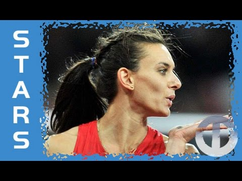 Yelena Isinbaeva on Trans World Sport