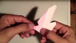 Origami Black-tailed Gull - How To Make Origami Black-tailed Gull Umineko 