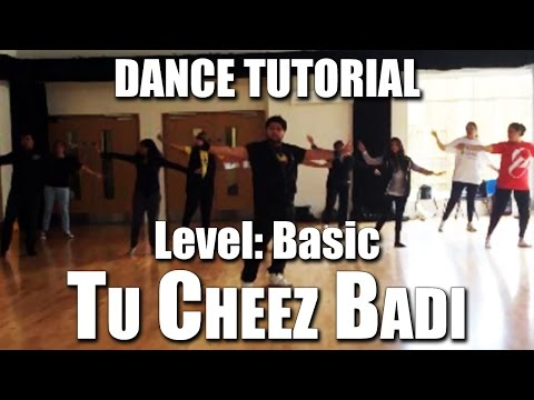 Bollywood Dance Tutorial - 'tu Cheez Badi' Basic video