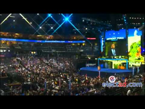 Anthony R. Foxx Addresses The DNC, Charlotte, North Carolina - September 4 2012