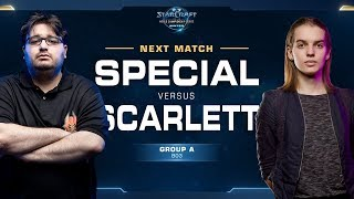 Scarlett vs SpeCial ZvT - Ro16 Group A - WCS Winter Americas