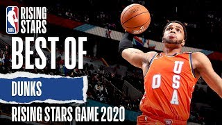 The BEST DUNKS From The NBA Rising Stars Game! | 2020 NBA All-Star
