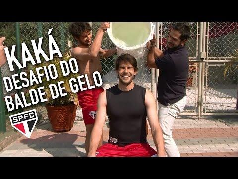 Kaká cumpre o desafio do balde de gelo #desafiodogeloELA #ALSIceBucketChallenge - São Paulo FC