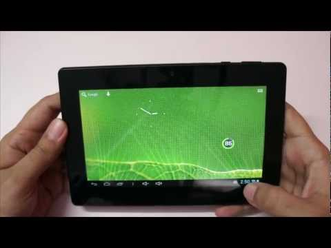 Zync Dual 7 Budget Android Tab with 1.6 Ghz Dual Core Unboxing