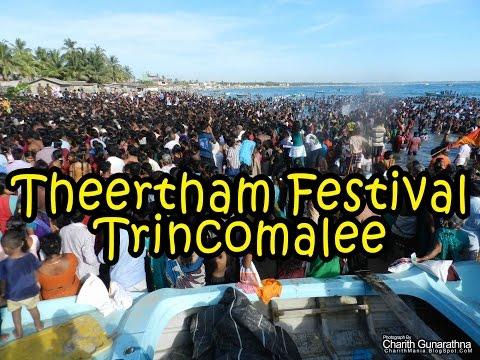 Theertham Festival Trincomalee Sri Lanka