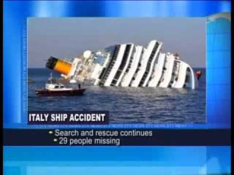 Italy ship disaster updateRescue crews have discovered five more bodies trapped in ill-fated ship in