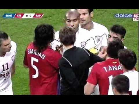 VIDEO INCENDIAR! BATAIE La Steaua-Rapid
