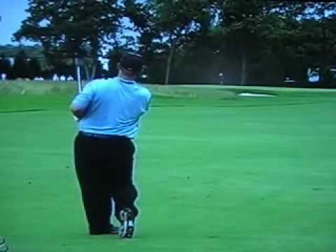 David Duval US Open 2009 iron shot Video