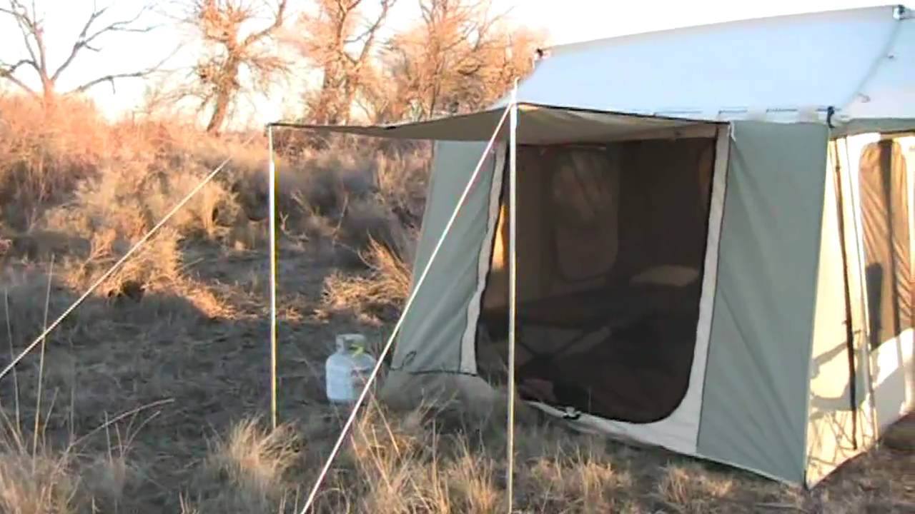 Kodiak Canvas Cabin Tent Camping Youtube