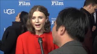 Santa Barbara International Film Festival: Thomasin Harcourt McKenzie Red Carpet Interview