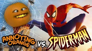 Annoying Orange vs Spider-Man