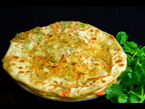 Vegetable Maharashtra Paratha Recipe With English Subtitles