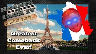 GREATEST COMEBACK IN HOI4 MP! TOMMY PLAYS FRANCE! - HOI4 Multiplayer