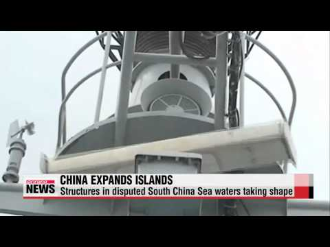 China′s structures in disputed South China Sea waters taking shape   중국, 남중국해서 7