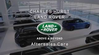 Aftersales Care at Charles Hurst Land Rover Belfast