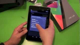 Google Nexus 7 3G einrichten