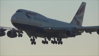 Afternoon Arrivals \ London Heathrow Airport LHR, RWY09L | 20/01/17