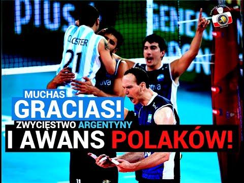 Radość Po Meczu Argentyna - USA W Bydgoszczy 14.09.2014 MŚ 2014