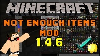 Minecraft mods Capitulo 8: Descargar e instalar Not Enough Items (NEI) para Minecraft 1.4.5