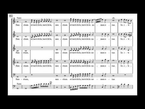 Монтеверди Клаудио - Confitebor III