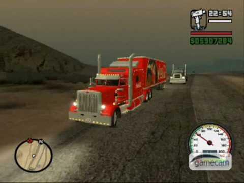 Gta: Coca Cola Christmas Truck mod