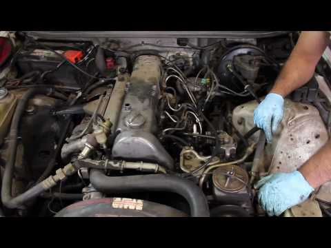 Diagnosing Early Mercedes Diesel No Start, Rough Running, Heavy Smoke Problems - Part 1