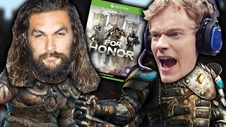 "People Play ""For Honor"" Against Theon Greyjoy"